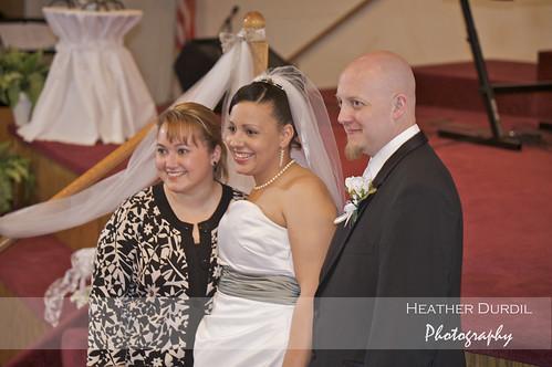 Elysia, Chris, & their wedding planner