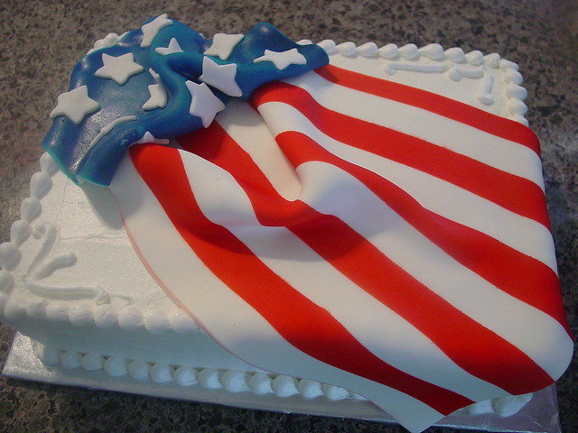 4th of July cake Flickr - Photo Sharing!