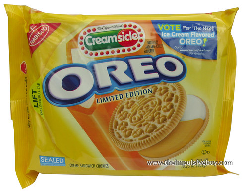 REVIEW: Limited Edition Creamsicle Oreo - The Impulsive Buy