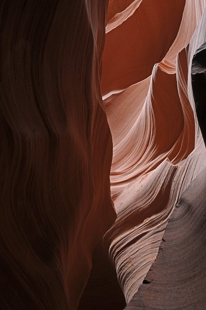 Erosional art- Antelope Canyon