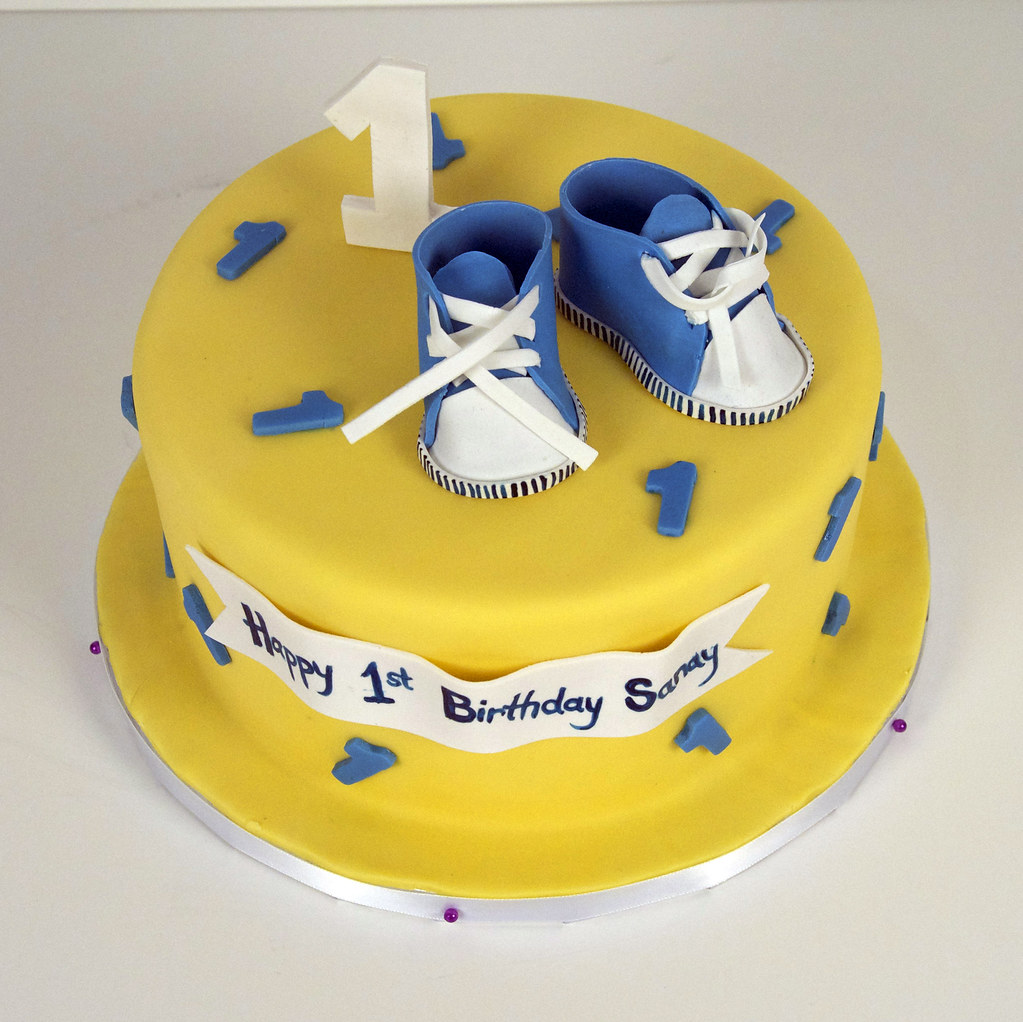 Baby Boy 1st Birthday Cake Toronto