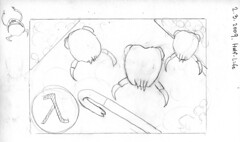 sketch for bento #37: Head Crabs from Half-Life