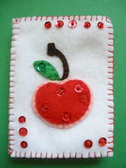 Cherry Needlebook