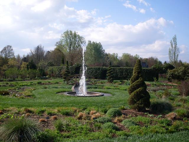 Fountain Daniel Stowe Botanical Garden North Carolina Flickr Photo Sharing