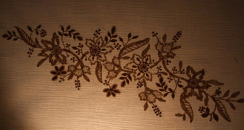 Chikan hand embroidery
