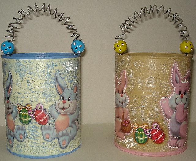 Latas decoradas baby Flickr - Photo Sharing!