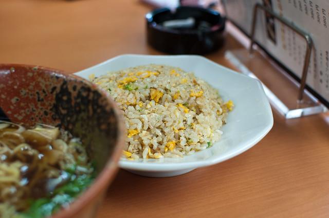 Chicken soy ramen & Egg fried rice   Flickr - Photo Sharing!