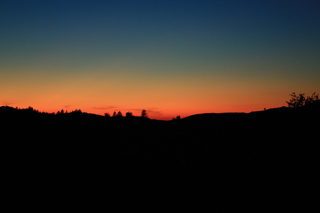 La Honda, CA sunset