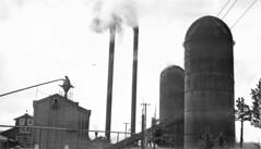 Brooks Scanlon Lumber Company, near Bend, Oregon, showing fuel house and two burners
