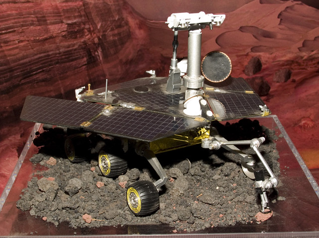 model spirit rover stuck - photo #12