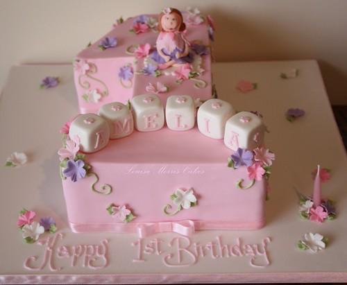 Birthday Cake For First Birthday Of Baby Girl  Image Inspiration - 1st birthday cake girl