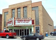 Stadium Theater, Side View - Jerseyville, Illinois - 4/24/09