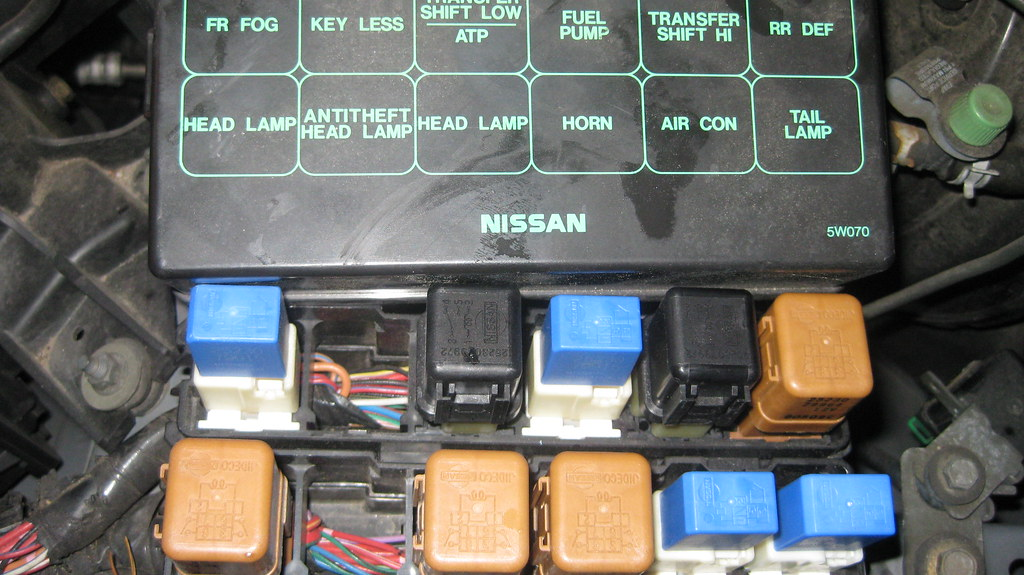 Fuse Box Infiniti Qx4 : Nissan pathfinder fuse box diagram