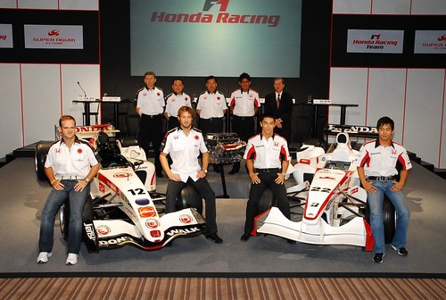 Honda and Super Aguri 2006
