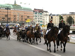 Stockholm, King Carl XVI. Gustaf and Queen Silvia