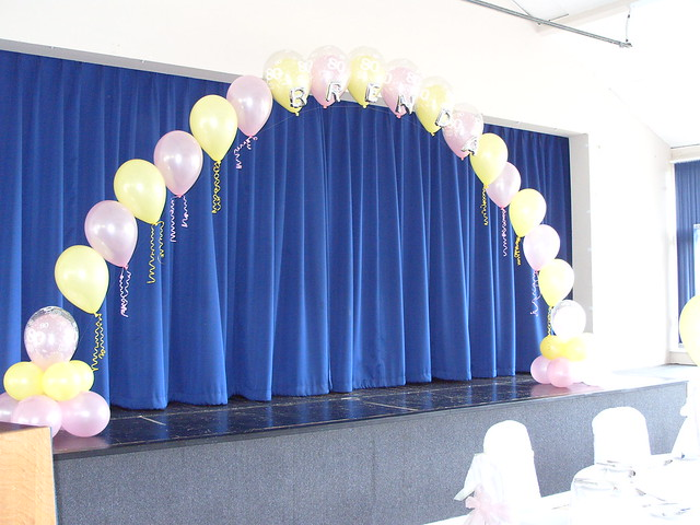 Single pearl balloon arch flickr photo sharing