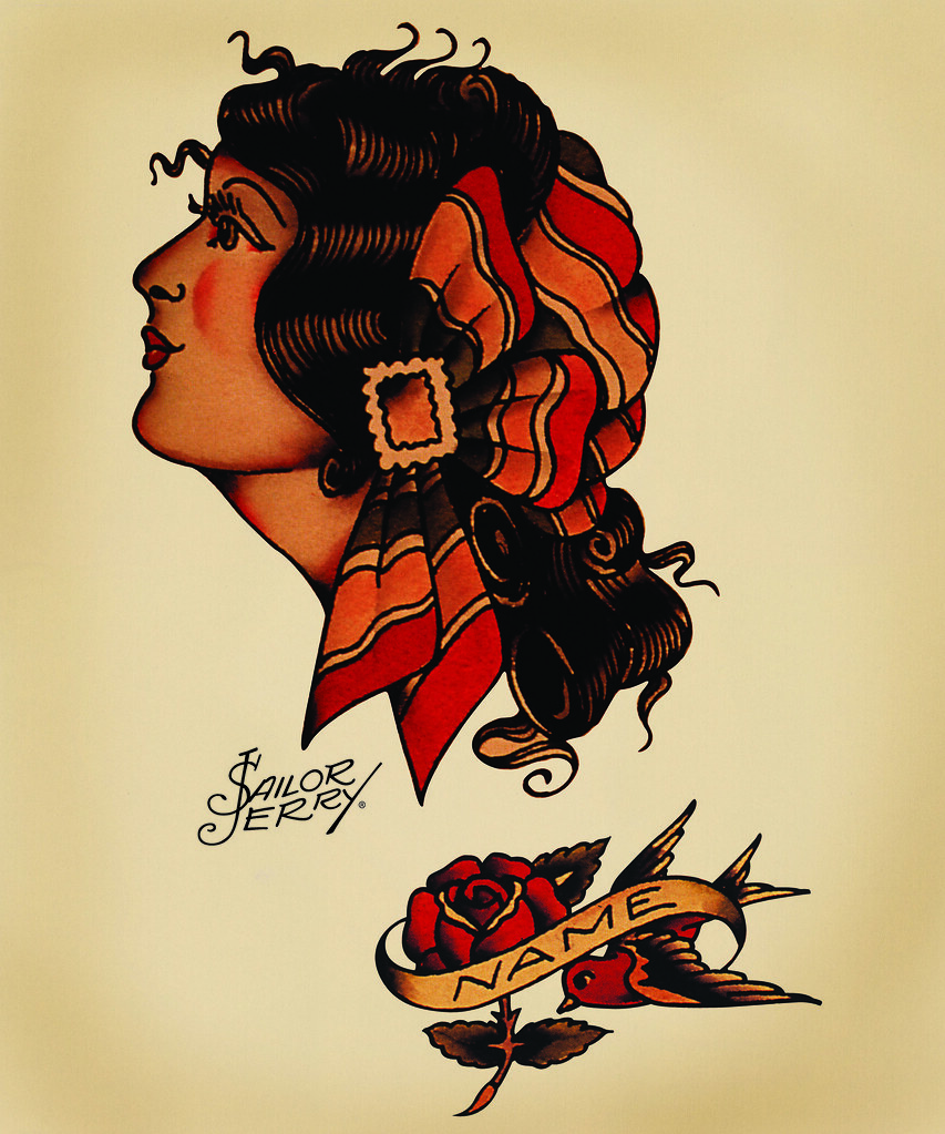 Enchanting Sailor Jerry Wall Art Mold - The Wall Art Decorations ...