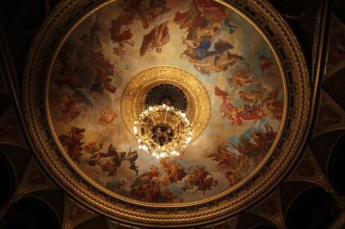 Soffitto della sala principale del Teatro dell'Opera
