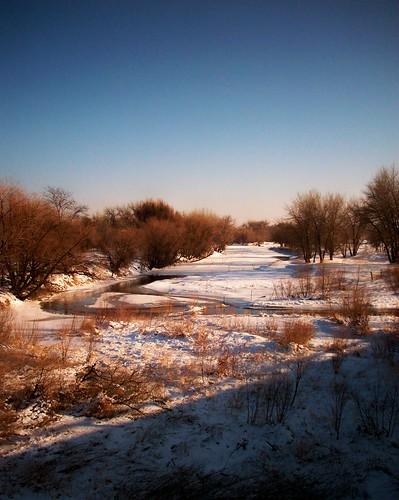 sunset snow creek northplatte
