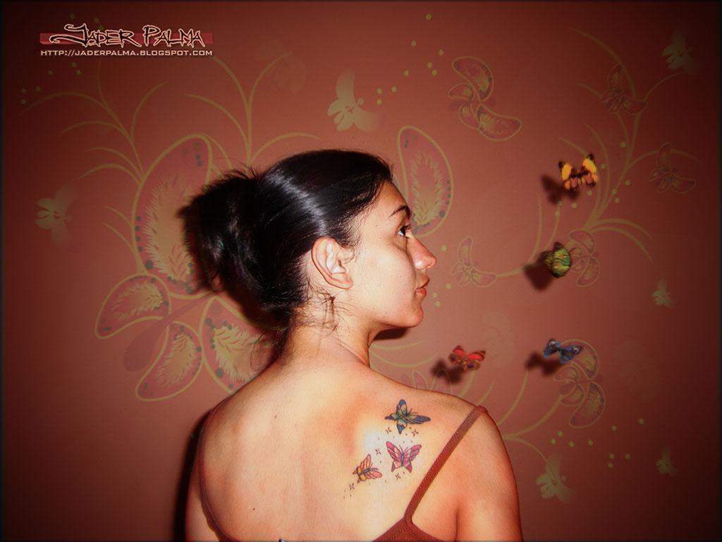 Borboletas by Jader Palma