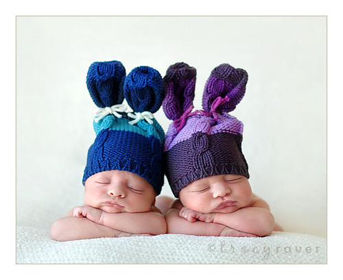 2 little bunnies...