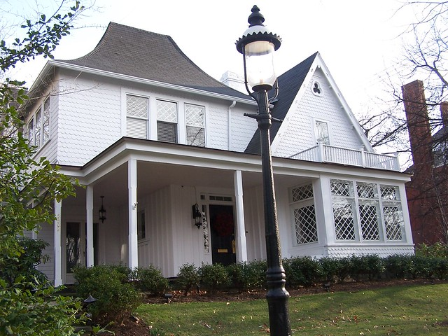 Gothic revival cottage shadyside flickr photo sharing for Gothic revival farmhouse