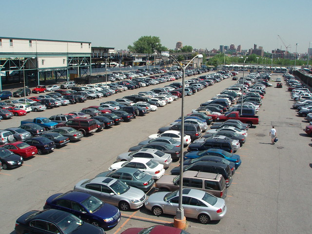 US Open Parking Lot