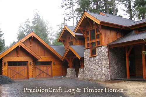 PrecisionCraft Log Homes | Custom Log Home | Located in Oregon