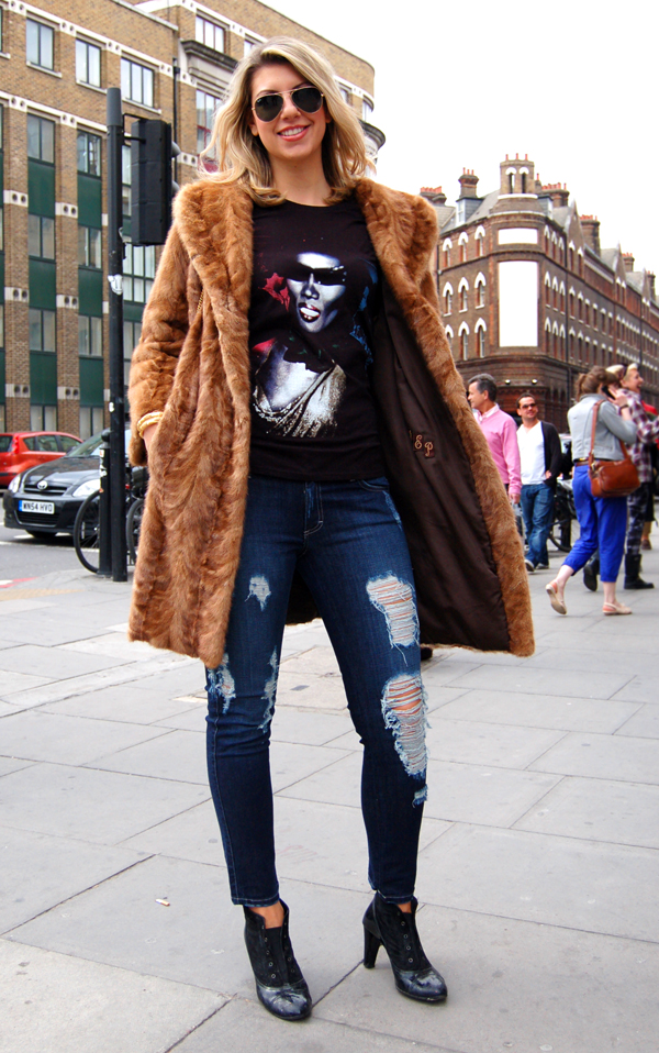 The Style Scout London Street Fashion Rock Chick Glam