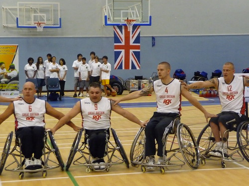 Paralympics Wheelchair Basketball Tournament