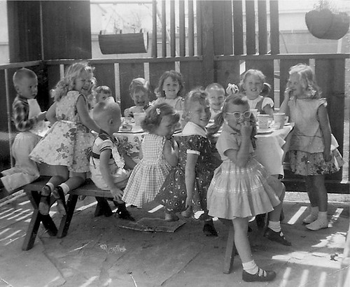 3rd Birthday Party, 1957 by ozfan22