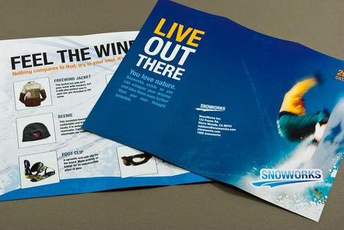 Extreme Snowboard Apparel Brochure