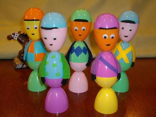 Egg jockeys