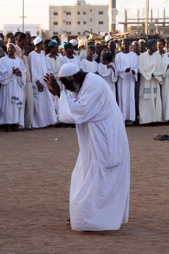 africa travel photo sudan sufi omdurman dhikr