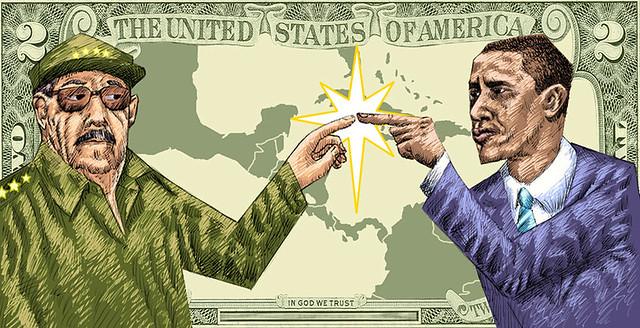 Castro - Obama