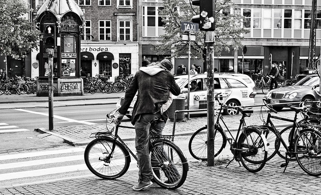 Kiss Her Even if She Doesn't Have a Bicycle