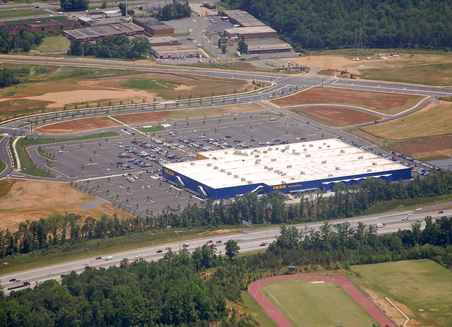 charlotte aerial photography ikea flickr photo sharing