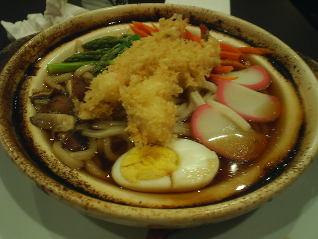 Nabeyaki Udon soup | Flickr - Photo Sharing!