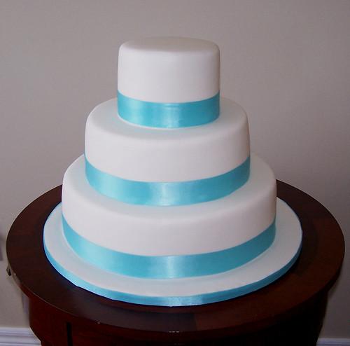 Tiffany Blue Cake Images : Tiffany Blue Wedding Cake