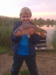 David Selley 6lb mirror carp caught off peg 14 on the island pool only my third time fishing