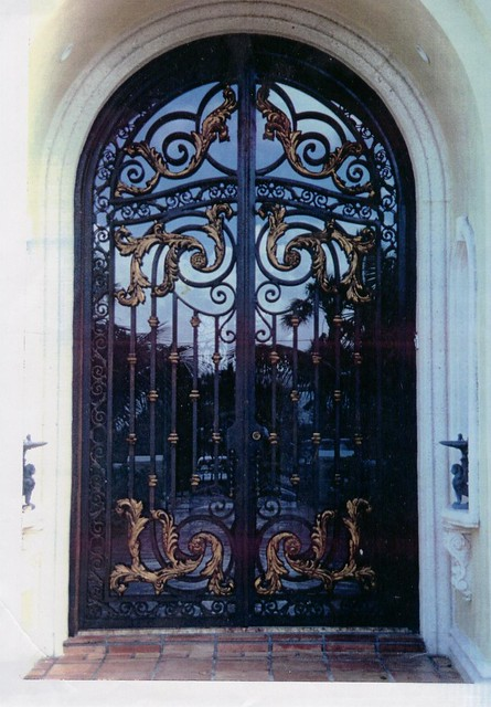 Wrought Iron Glass Entry Doors 347 x 500 · 131 kB · jpeg