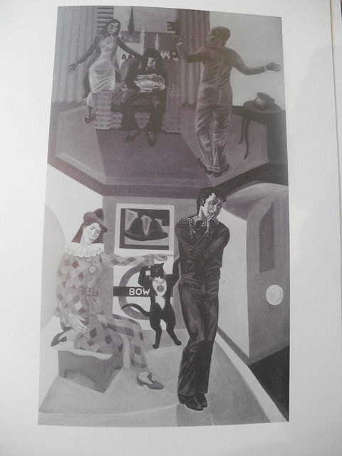 New Whittington Hospital Triptych  Legend of Dick Whittington & his Cat  3