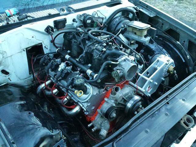 Ls 5 3 75 240d benz build - TennSpeed