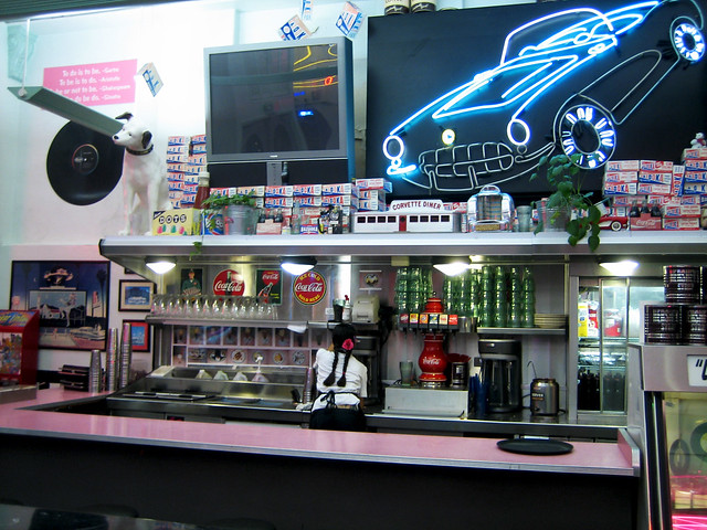 corvette diner flickr photo sharing. Cars Review. Best American Auto & Cars Review