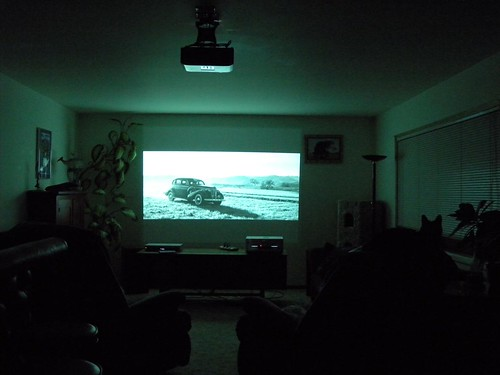 set up a projector in the living room ryan mcfarland 39 s blog