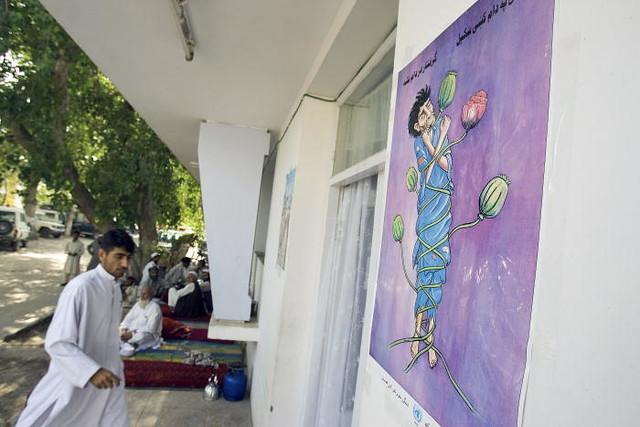 Afghan Men at Drug Treatment Centre - Flickr - Photo Sharing!