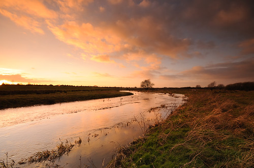 sunset nature river landscape outdoors wideangle getty marshland