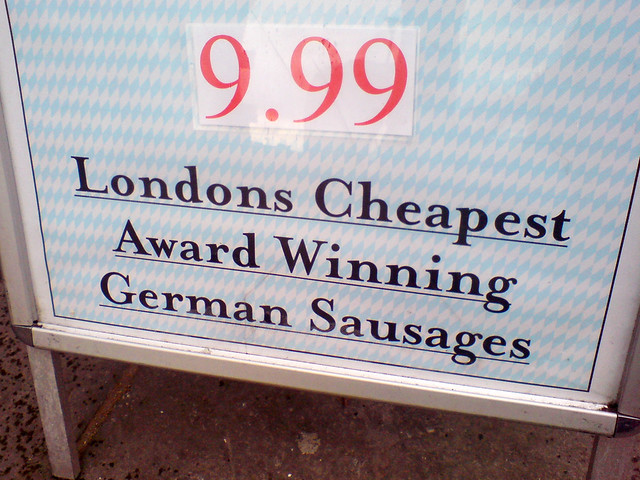 ♫ Maybe it's because I'm a Frankfurter ♪