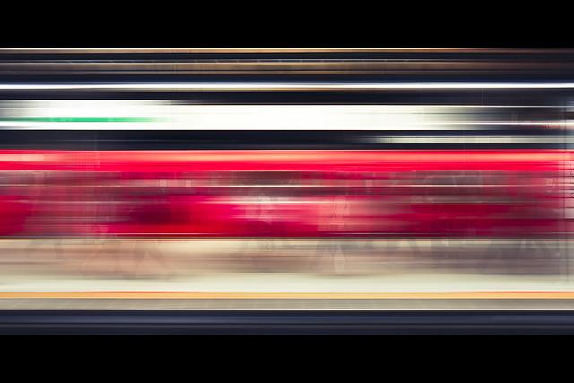 Horizontals: Shinjuku station