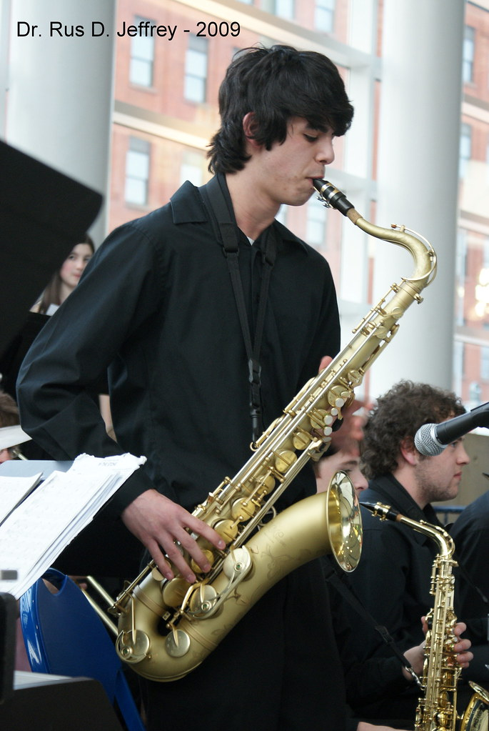Jazz Band - Tenor Sax Solo | drrus2000 | Flickr